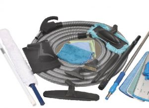 Microfiber cleaning kit
