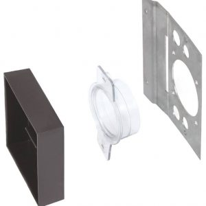 Metal Back-Up Plate with PVC Gasket