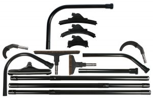 Commercial high reach vacuum tool set
